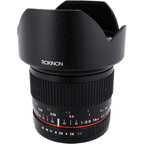 Rokinon 10mm f/2.8 ED AS NCS CS