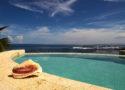 Pool Overlooking Caribbean Sea