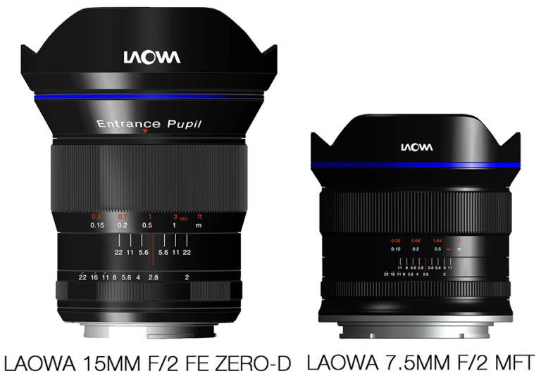 Venus Optics' Laowa 15mm f/2 and 7.5mm /f2