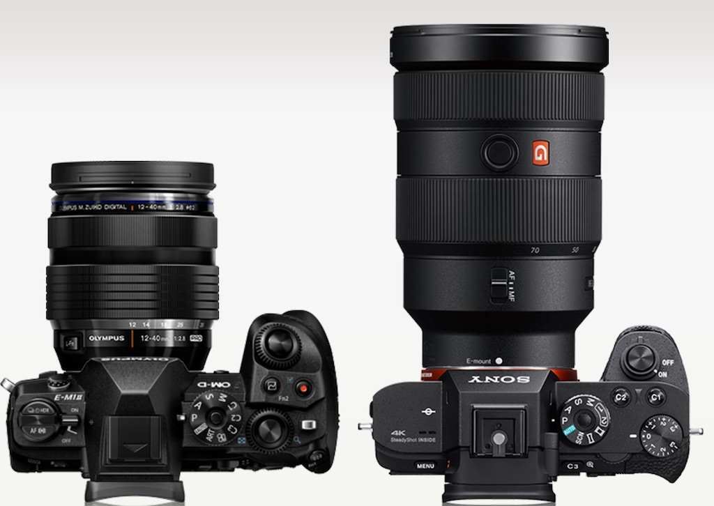 Oly vs. Sony w. 24-70mm f/2.8