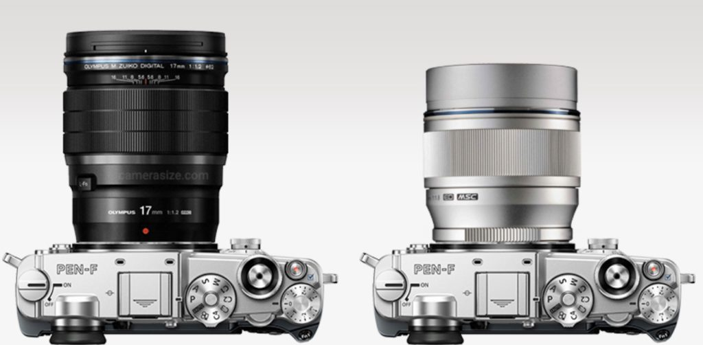 Olympus 17mm f/1.2 PRO vs 75mm f/1.8